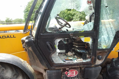 plant machinery glass repair and replacement in cork